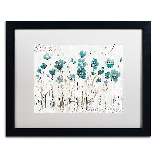 Trademark Fine Art Lisa Audit 'Abstract Balance VI Blue'  16 x 20 (WAP0246-B1620MF)