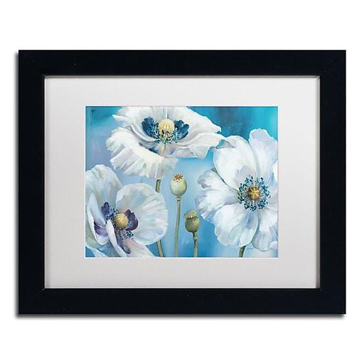 Trademark Fine Art Lisa Audit 'Blue Dance I'  11 x 14 (WAP0247-B1114MF)