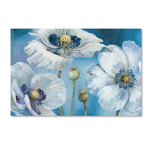 Trademark Fine Art Lisa Audit 'Blue Dance I'  12 x 19 (WAP0247-C1219GG)