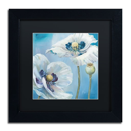 Trademark Fine Art Lisa Audit 'Blue Dance II'  11 x 11 (886511712652)
