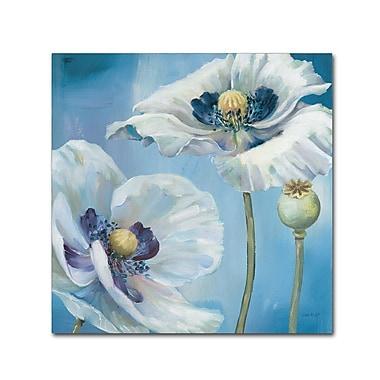 Trademark Fine Art Lisa Audit 'Blue Dance II' 18 x 18 (WAP0248-C1818GG)