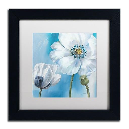 Trademark Fine Art Lisa Audit 'Blue Dance III'  11 x 11 (WAP0249-B1111MF)