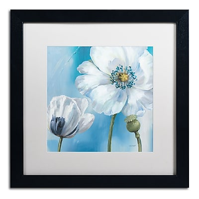 Trademark Fine Art Lisa Audit 'Blue Dance III' 16 x 16 (WAP0249-B1616MF)