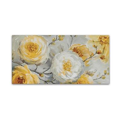 Trademark Fine Art Lisa Audit 'Sunshine' 10 x 19 (WAP0250-C1019GG)