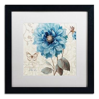 Trademark Fine Art Lisa Audit 'A Blue Note II' 16 x 16 (WAP0251-B1616MF)
