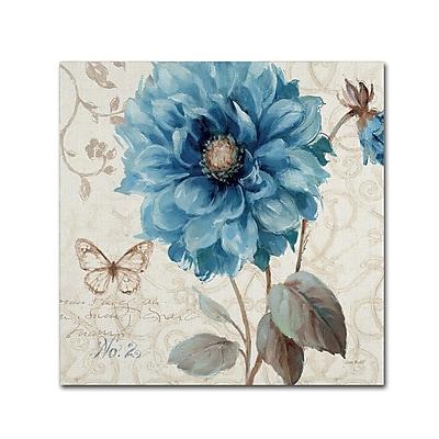 Trademark Fine Art Lisa Audit 'A Blue Note II' 18 x 18 (WAP0251-C1818GG)