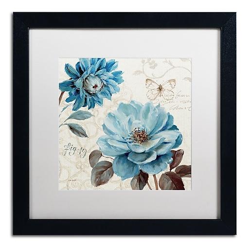 Trademark Fine Art Lisa Audit 'A Blue Note III'  16 x 16 (WAP0252-B1616MF)