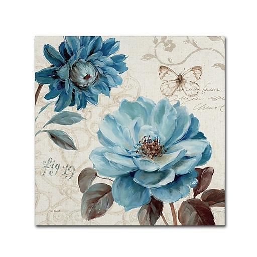 Trademark Fine Art Lisa Audit 'A Blue Note III'  18 x 18 (WAP0252-C1818GG)