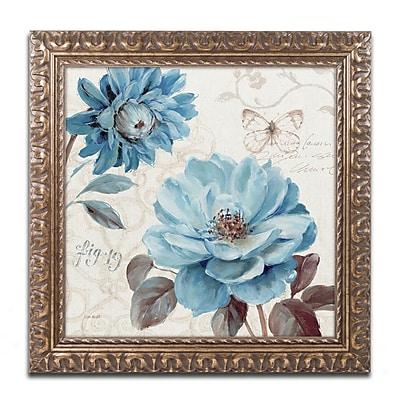 Trademark Fine Art Lisa Audit 'A Blue Note III' 16 x 16 (WAP0252-G1616F)