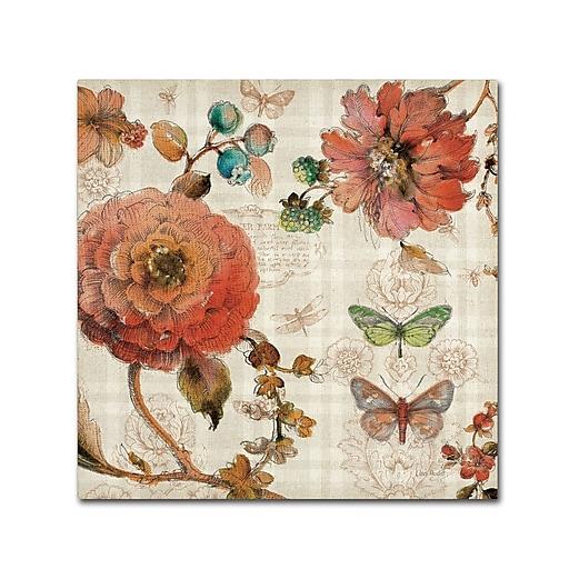 Trademark Fine Art Lisa Audit 'French Country IV'  35 x 35 (WAP0256-C3535GG)