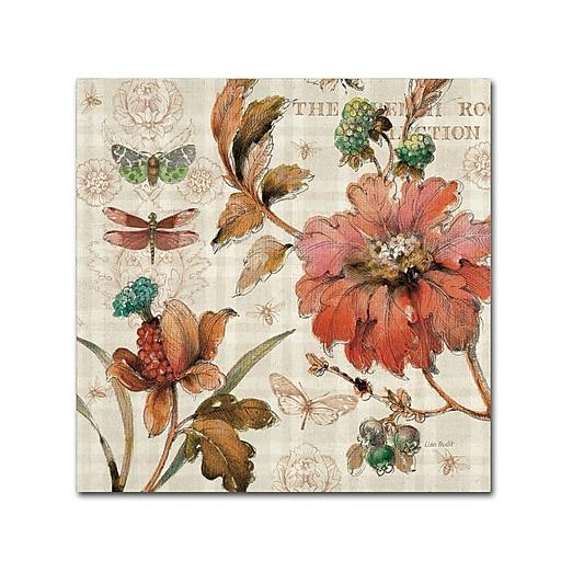 Trademark Fine Art Lisa Audit 'French Country V'  18 x 18 (WAP0257-C1818GG)