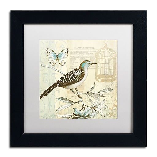 Trademark Fine Art Lisa Audit 'Freedom I'  11 x 11 (WAP0258-B1111MF)