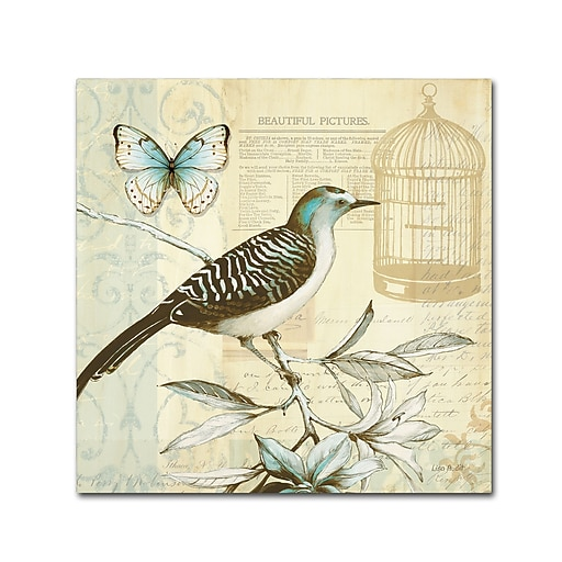 Trademark Fine Art Lisa Audit 'Freedom I'  24 x 24 (WAP0258-C2424GG)