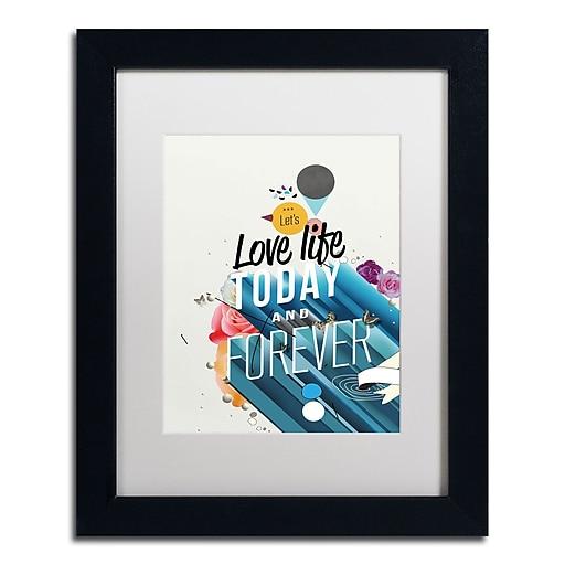 Trademark Fine Art Kavan & Co 'Everything Forever'  11 x 14 (ALI0605-B1114MF)