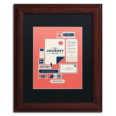 Trademark Fine Art Kavan & Co 'The Destination' 11 x 14 (886511612228)
