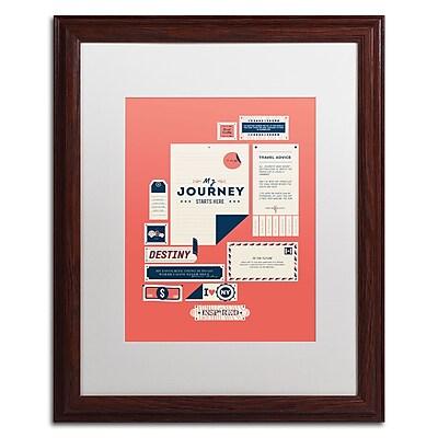 Trademark Fine Art Kavan & Co 'The Destination' 16 x 20 (ALI0608-W1620MF)