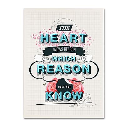 Trademark Fine Art Kavan & Co 'The Reason' 18 x 24 (ALI0613-C1824GG)