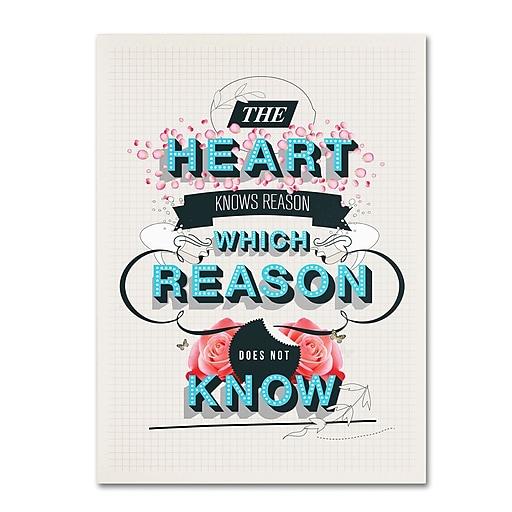 Trademark Fine Art Kavan & Co 'The Reason'  35 x 47 (ALI0613-C3547GG)