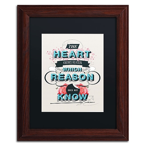 Trademark Fine Art Kavan & Co 'The Reason'  11 x 14 (886511612822)