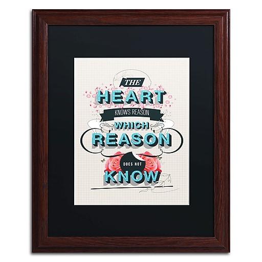 Trademark Fine Art Kavan & Co 'The Reason'  16 x 20 (886511612846)
