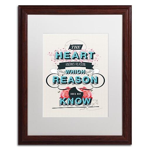 Trademark Fine Art Kavan & Co 'The Reason'  16 x 20 (ALI0613-W1620MF)