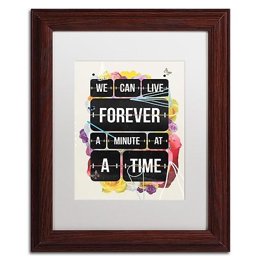 Trademark Fine Art Kavan & Co 'Time of Your Life'  11 x 14 (ALI0615-W1114MF)