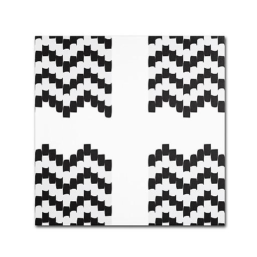 Trademark Fine Art Kavan & Co 'Fight or Flight'  24 x 24 (ALI0620-C2424GG)