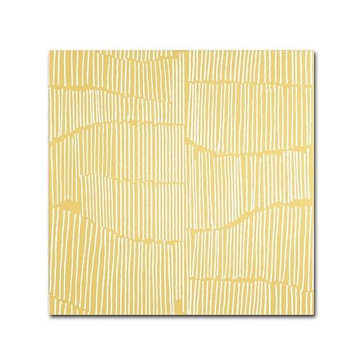 Trademark Fine Art Kavan & Co 'Spaces Between II'  18 x 18 (ALI0621-C1818GG)
