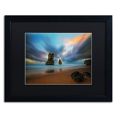 Trademark Fine Art Lincoln Harrison 'Beach at Sunset 2' 16 x 20 (886511728202)