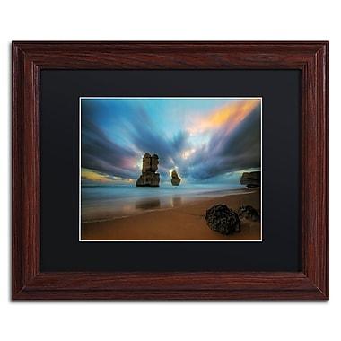 Trademark Fine Art Lincoln Harrison 'Beach at Sunset 2' 11 x 14 (886511728264)
