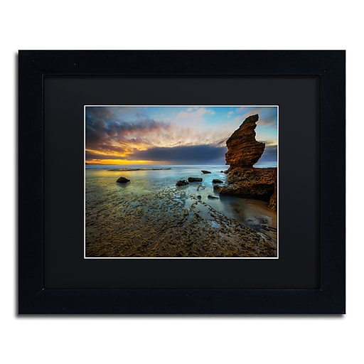 Trademark Fine Art Lincoln Harrison 'Beach at Sunset 3'  11 x 14 (886511728301)