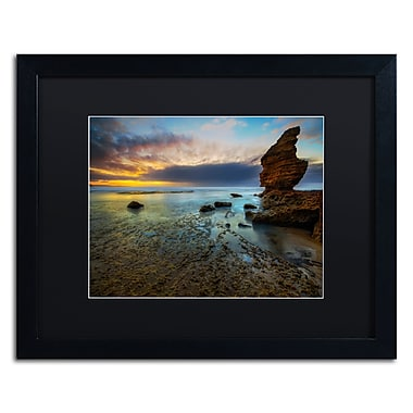 Trademark Fine Art Lincoln Harrison 'Beach at Sunset 3' 16 x 20 (886511728325)
