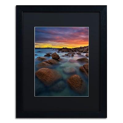 Trademark Fine Art Lincoln Harrison 'Beach at Sunset 4' 16 x 20 (886511728424)