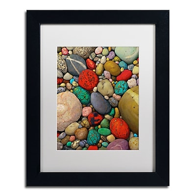 Trademark Fine Art Stephen Stavast 'Shallows of Treasure Creek' 11 x 14 (ALI0745-B1114MF)