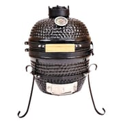 Kahuna Grills Charcoal Smoker & Grill; Red