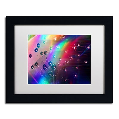 Trademark Fine Art Beata Czyzowska Young 'Rainbow Logistics II' 11 x 14 (BC0212-B1114MF)