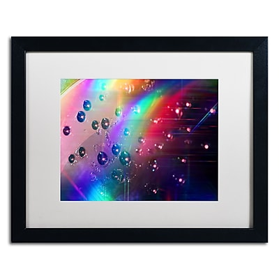 Trademark Fine Art Beata Czyzowska Young 'Rainbow Logistics II' 16 x 20 (BC0212-B1620MF)