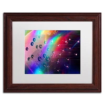 Trademark Fine Art Beata Czyzowska Young 'Rainbow Logistics II' 11 x 14 (BC0212-W1114MF)