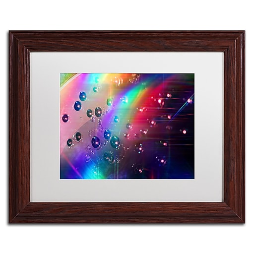 Trademark Fine Art Beata Czyzowska Young 'Rainbow Logistics II'  11 x 14 (BC0212-W1114MF)