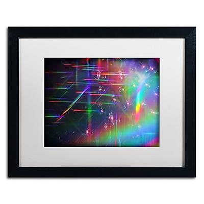 Trademark Fine Art Beata Czyzowska Young 'Rainbow Logistics IV' 16 x 20 (BC0214-B1620MF)