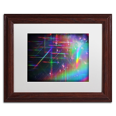 Trademark Fine Art Beata Czyzowska Young 'Rainbow Logistics IV' 11 x 14 (BC0214-W1114MF)