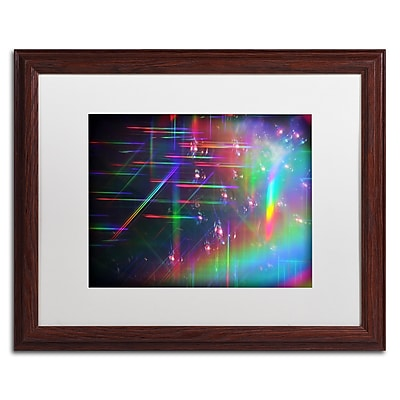 Trademark Fine Art Beata Czyzowska Young 'Rainbow Logistics IV' 16 x 20 (BC0214-W1620MF)