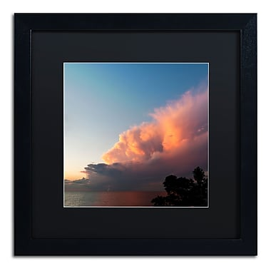 Trademark Fine Art Kurt Shaffer 'Distant Lightning at Sunset' 16 x 16 (KS0148-B1616BMF)