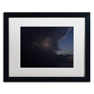 Trademark Fine Art Kurt Shaffer 'Sunset Thunderhead #3' 16 x 20 (KS0152-B1620MF)