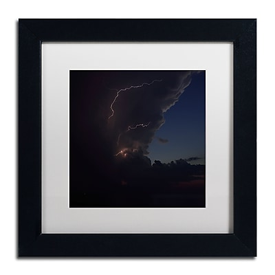 Trademark Fine Art Kurt Shaffer 'Sunset Thunderhead #2' 11 x 11 (KS0153-B1111MF)