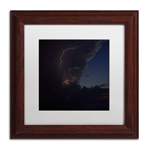 Trademark Fine Art Kurt Shaffer 'Sunset Thunderhead #2'  11 x 11 (KS0153-W1111MF)