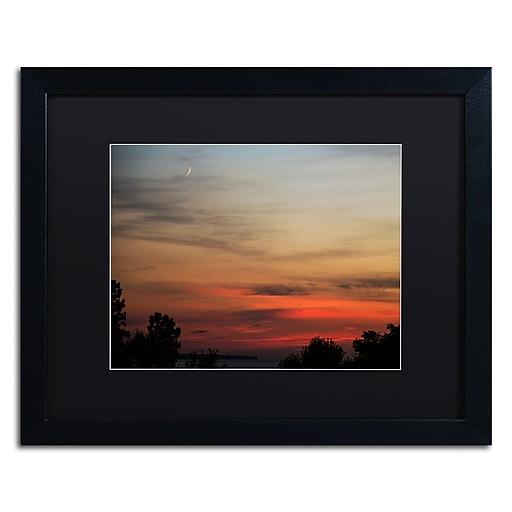 Trademark Fine Art Kurt Shaffer 'New Moon Sunset'  16 x 20 (KS0169-B1620BMF)