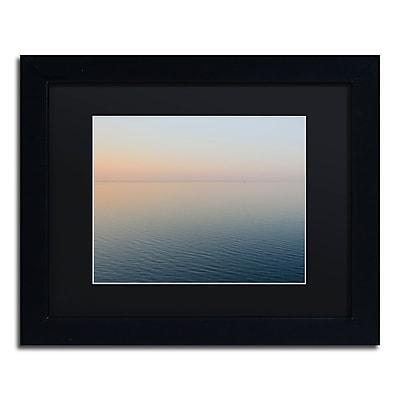 Trademark Fine Art Kurt Shaffer 'Stillness is the Way' 11 x 14 (KS0185-B1114BMF)