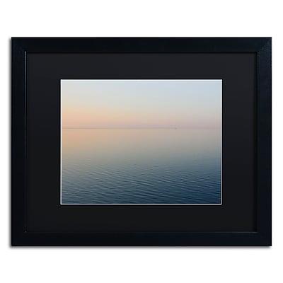 Trademark Fine Art Kurt Shaffer 'Stillness is the Way' 16 x 20 (KS0185-B1620BMF)