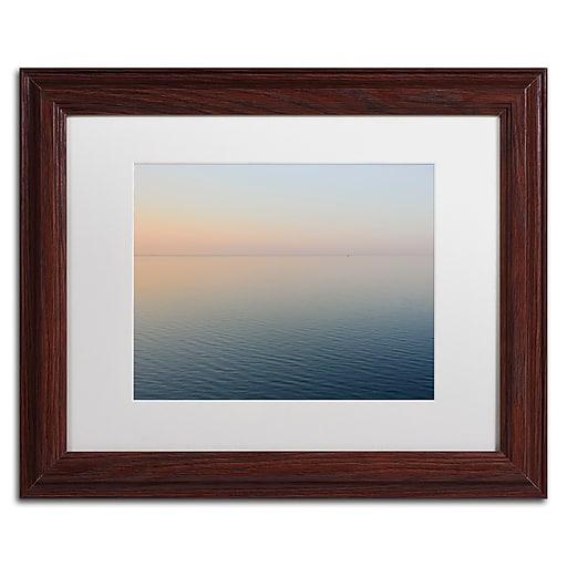 Trademark Fine Art Kurt Shaffer 'Stillness is the Way'  11 x 14 (KS0185-W1114MF)